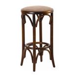 Барные стулья на деревянном каркасе