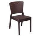 Стул из пластика, стул имитация под ротанг,стул пластиковый для улицы, стул из искусственного ротанга,стул из искусственного ротанка для кафе, стул из ротанга ,стул из ротанга для дома,стул из ротанга для ресторана