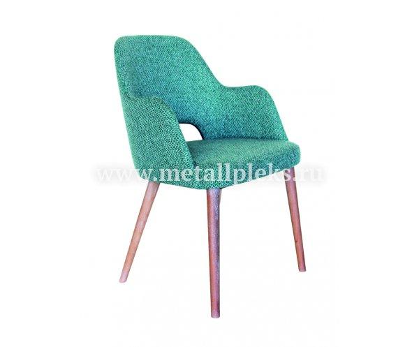 Кресло на деревянном каркасе Kol