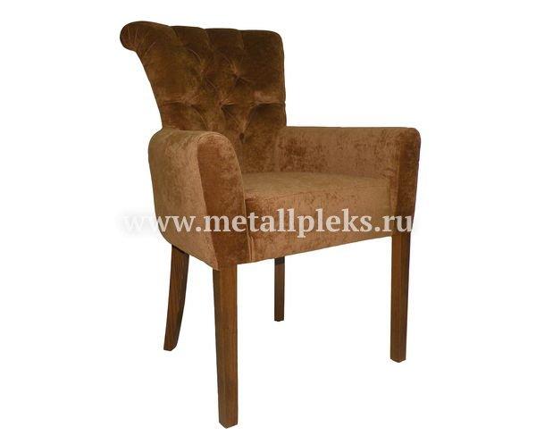 Кресло на деревянном каркасе АK-1537