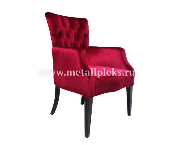 Кресло  на деревянном каркасе АK-1708-a