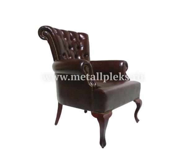 Кресло на деревянном каркасе АК-1627