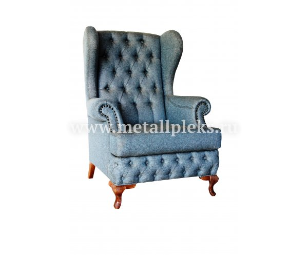 Кресло на деревянном каркасе Shato