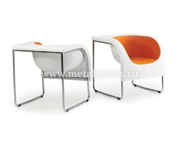 Кресло на металлокаркасе MK-709