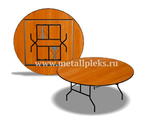 Стол на металлокаркасе MM-2005