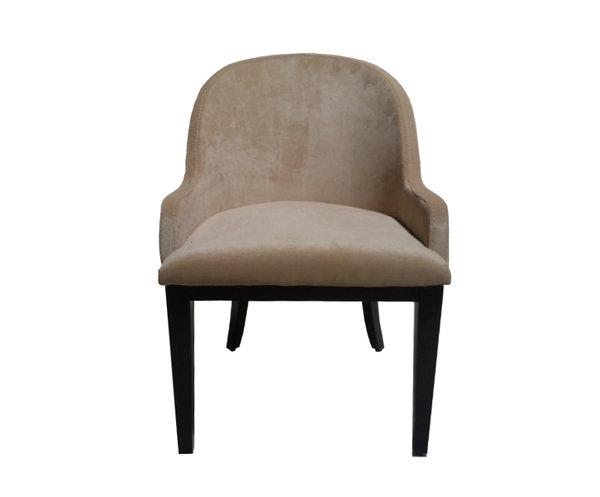 Кресло на деревянном каркасе Di