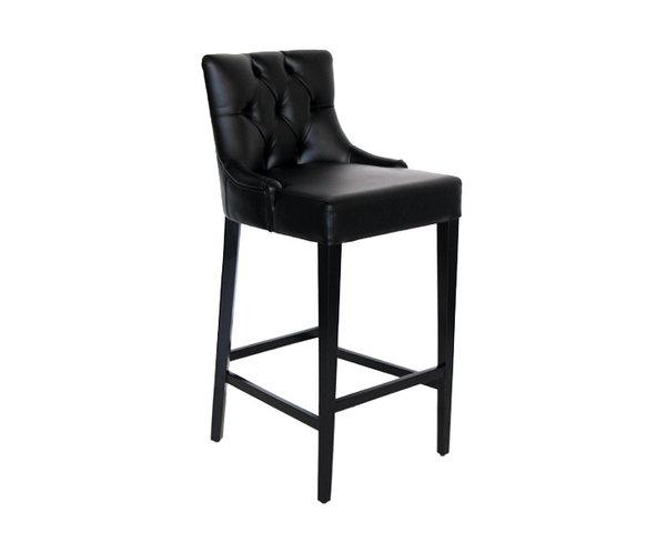 Барный стул ABS-4407-a чёрного цвета