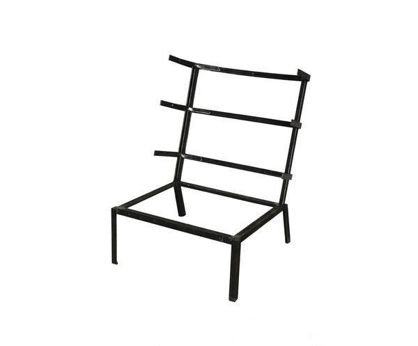 Кресло  на металлическом каркасе Simetrika