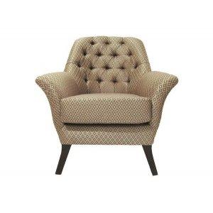 Кресло на деревянном каркасе АK-1509