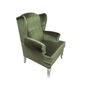 Кресло на деревянном каркасе АK-1514-b