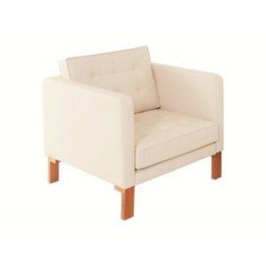 Кресло на деревянном каркасе АК-1580