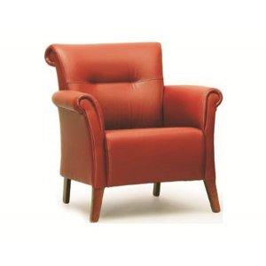 Кресло на деревянном каркасе АК-1604-b