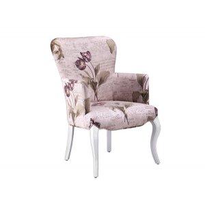 Кресло на деревянном каркасе АK-1609-c