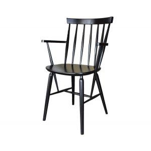 Кресло на деревянном каркасе AK-1613