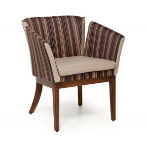 Кресло на деревянном каркасе АK-1691