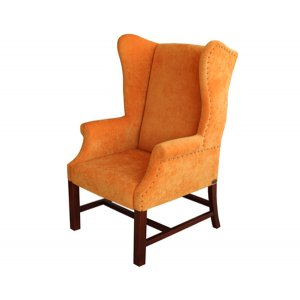 Кресло на деревянном каркасе AK-1771-b
