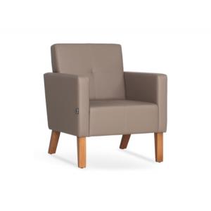 Кресло на деревянном каркасе AK-1821