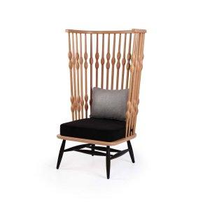 Кресло на деревянном каркасе Bufi Large