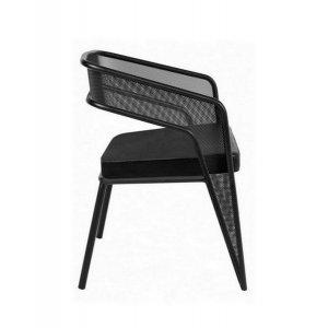 Кресло  в стиле лофт с мягким сиденьем MK-254