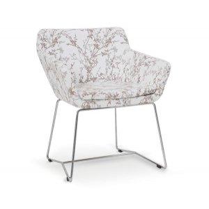 Кресло на металлокаркасе MK-548