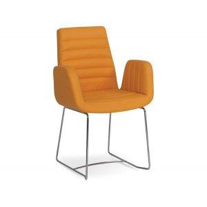 Кресло на металлокаркасе MK-552-b