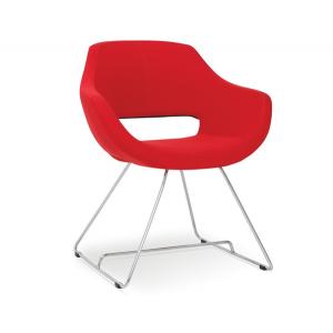 Кресло на металлокаркасе MK-570-b