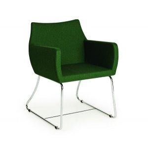 Кресло на металлокаркасе MK-652-b