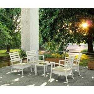 Комплект мебели террасы из пластика